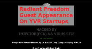 Radiant Freedom Guest Appearance On YVR Startups